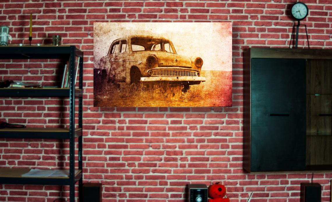 OLD PICK UP 926x560 mm (DIBOND)