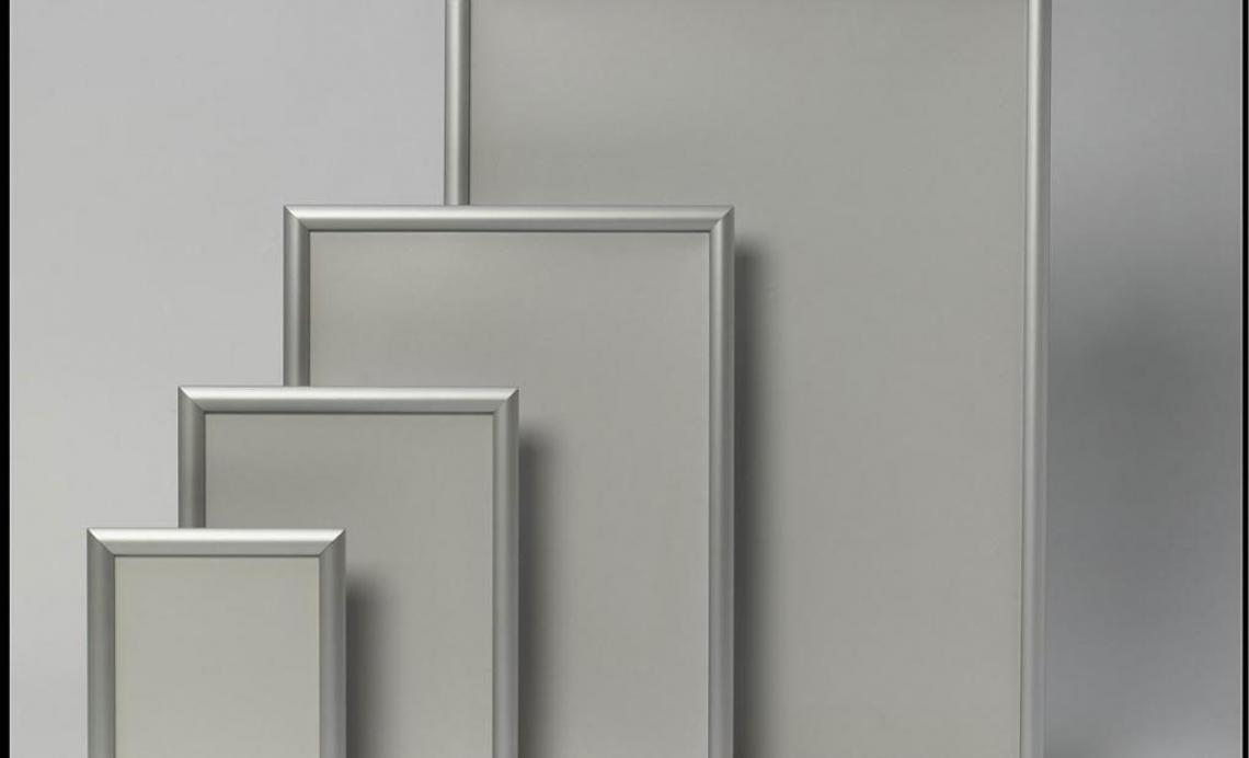 Zaklapávacie rámy (vysoká estetika) A4 | A3 | A2 | A1
