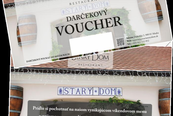 Voucher Restauracia STARY DOM