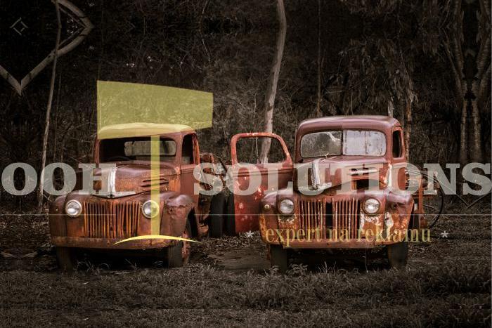 2 staré pickupy