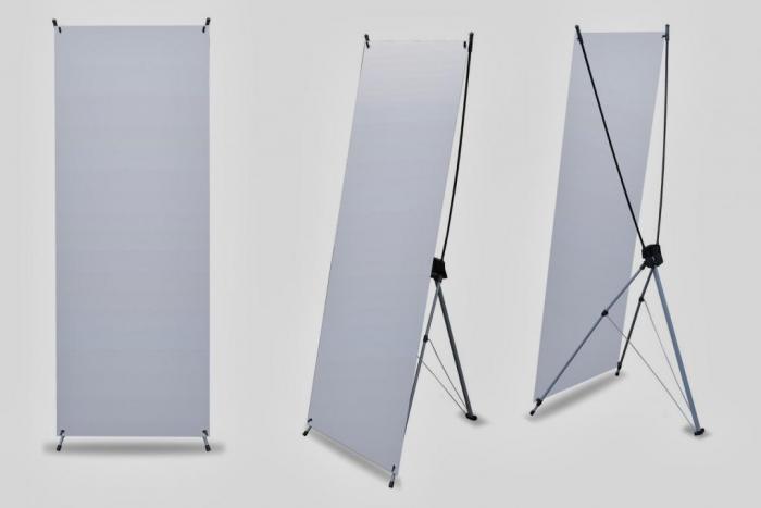 X Banner stand Up štandard